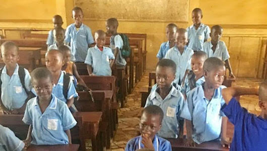Lamin Bah Provides Flooring and Desk to Sierra Leone Schools